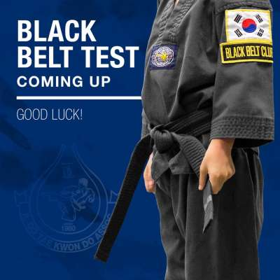 Black Belt Test 2