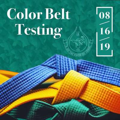 Color Belt Test